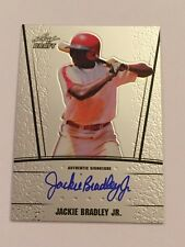 Jackie Bradley Jr. 2011 Leaf Draft RC ON CARD Auto #AU-JB1 Red Sox