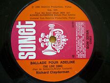RICHARD CLAYDERMAN = BALLARDE POUR ADELAINE (x2) + A WALK IN THE WOODS 3 TRACKS