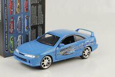 Mia`s Honda Integra Typ R blau Fast and & Furious 1:24 Jada NEU