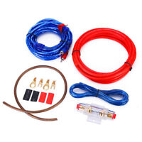 1500w Car Amplifier Wiring Kit Audio Subwoofer AMP RCA Power Cable AGU FUSE HY