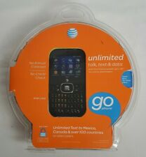 ZTE Z432 AT&T Prepaid Go Phone Cell Phone - Black