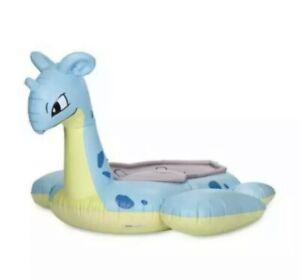 Lapras Pokemon Center Sunset Inflatable Pool Float - New In Box