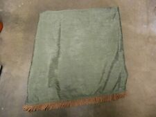 Croscill Parfait Green Townhouse Dover Manor 45 x 216 Fringed Scarf Valance