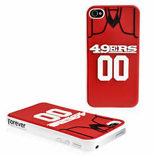 San Francisco 49ers IPHONE 4/4S Jersey Hard Case/Cover with Silicone 3D Back