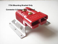 ANDERSON, DURITE, REMA PLUG SB 175 AMP MOUNTING BRACKET POWER CONNECTOR STAND