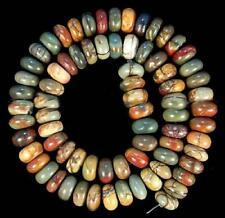 5x8mm Perles , multicolore, picasso, gemmes de jaspe, lâche,38cm