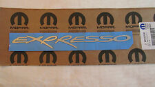 """New OEM Silver """"EXPRESSO"""" Decal RF44CA1AA"""