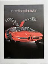 "Wolfgang Kuzel ""BMW Turbo"" Hand Signed  Poster"