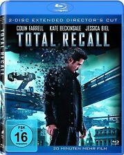 TOTAL RECALL (Colin Farrell, Kate Beckinsale) Blu-ray, 2 Discs NEU+OVP