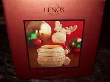 Lenox Moose Votive Hosting The Holidays New In Box 24K