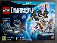 Nintendo Wii U Lego Dimensions Starter Pack (BRAND NEW & SEALED)