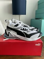 Puma LQDCELL Origin White Black Blue 192862 05 Size 12 Men's Shoes NEW