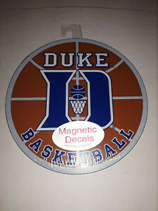 """Duke Blue Devils Basketball Magnetic Decal  5 1/2"""" Diameter"""