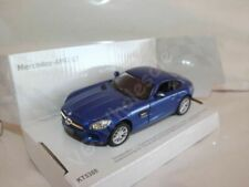 "Mercedes-AMG GT Blue Die Cast Metal Model Car 5""  New In Box"