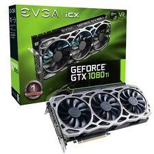 New EVGA GeForce GTX 1080 Ti FTW3 GAMING 11G-P4-6696-KR 11GB GDDR5X iCX Technolg