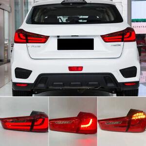 For Mitsubishi Outlander Sport ASX RVR 2011-2019 LED Tail Lights Rear Lamps Set