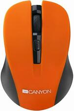 Canyon - CNE-CMSW1O - Wireless Optical Mouse, Orange