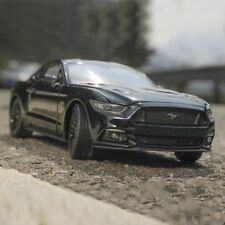 2015 Ford Mustang GT Model Cars Toys 1:24 Collection&Gifts Black Alloy Diecast