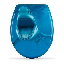 WC Sitz mit Absenkautomatik Hai Attacke Toilettensitz SharkToilettendeckel Klo