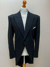 Vintage bespoke Savile Row morning tails tailcoat suit size 46 long