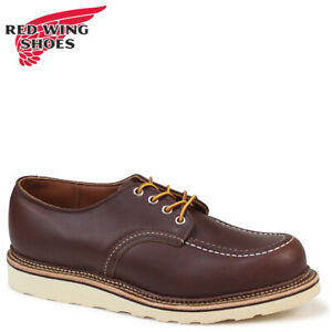 Red Wing 8109 Men's Work Oxford (Mahogany Oro-iginal Leather, Traction Tred)