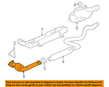 GM OEM-Exhaust System-Catalytic Converter & Pipe 22970501