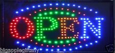"Animated LED Neon Business LED OPEN Sign with Motion ON/OFF Switch 21"" x 12""#10"