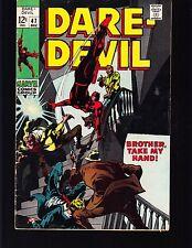 DAREDEVIL  #47 1969 FN/VG  MARVEL -BROTHER,  GENE COLON / STAN LEE