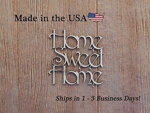 Home Sweet Home, Wood Home Sign, Wood Art, Home Sweet Home Decor, Wooden, LW1004