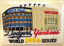 1956 WORLD SERIES NEW YORK YANKEES / BROOKLYN DODGERS Willabee & Ward PATCH ONLY