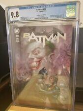 Batman #50 (Parrillo) Scorpion Comics #1 CGC 9.8