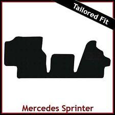 MONTATO SU MISURA AUTO Tappeti Tappetini per MERCEDES Sprinter MK1 1995-2006 NERO