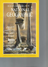 National Geographic June 1982 Mt Everest Park Namibia Nearly a Nation