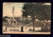 ANTIQUE POSTCARD / PLAZA COLON / S.J. PUERTO RICO / MAILED 1921 / PARIS BAZAAR