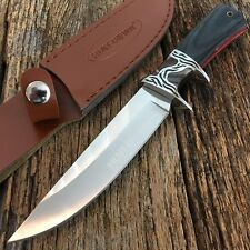 "10.5"" HUNTDOWN Hunting Camping Fishing Survival Knife New Sheath Military -S"