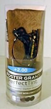 +2.00 Foster Grant Laney Tortoise Brown Perfect Tint Reading Glasses MSRP $44.99