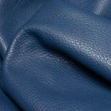 Steel Blue Embossed Grain Leather 1.4-1.6 mm Thick. A Size Panels