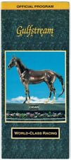 CAPE TOWN IN 1998 GULFSTREAM PARK HOLY BULL STAKES HORSE RACING PROGRAM!