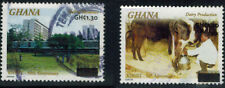 Ghana, 2008, used definitives, surcharged/over-printed