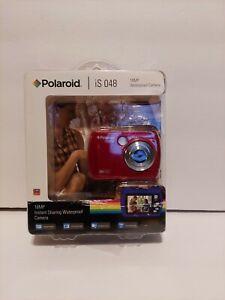 Polaroid 16MP Waterproof Digital Camera Red iS 048