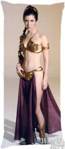 Carrie Fisher Princess Leia Star Wars Dakimakura Pillow case Pillowcase