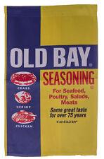 Old Bay Seafood Seasoning Can Logo Licensed 12 x 18 Inch Garden Flag