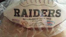 Raiders football signed MVP