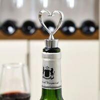 Elegant Heart Shaped Red Wine Bottle Stopper Twist Wedding Favors Gifts