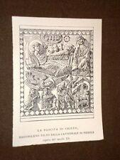 Nascita di Cristo Bassorilievo della Cattedrale di Fiesole Secolo XI