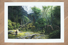 Uncharted 3. Official Fine Art Print. Chateau Courtyard. Limited Edition of 100