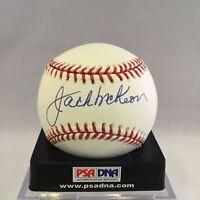 Jack McKeon Signed Autographed Official Major League PSA DNA COA #Y62328