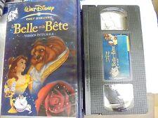 "USED VHS MOVIE  ""Walt Disney"" La Belle et la Bete"" French Version 2002"