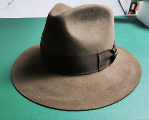 Indiana Jones Fedora Haarfilzhut von Dorfman Pacific
