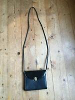 Mini Bag cross body bag Umhängetasche Picard clutch schwarz 50er vintage